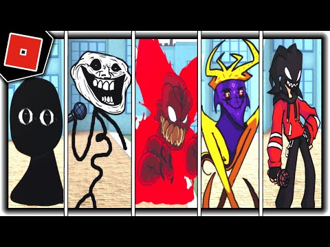 Download How to get ALL 30 BADGES + MORPHS/SKINS in FNF ROLEPLAY! - Roblox