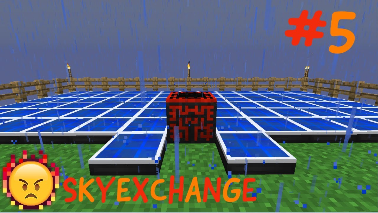 I Hate This Modpack!  SkyExchange(Modded SkyBlock) - YouTube