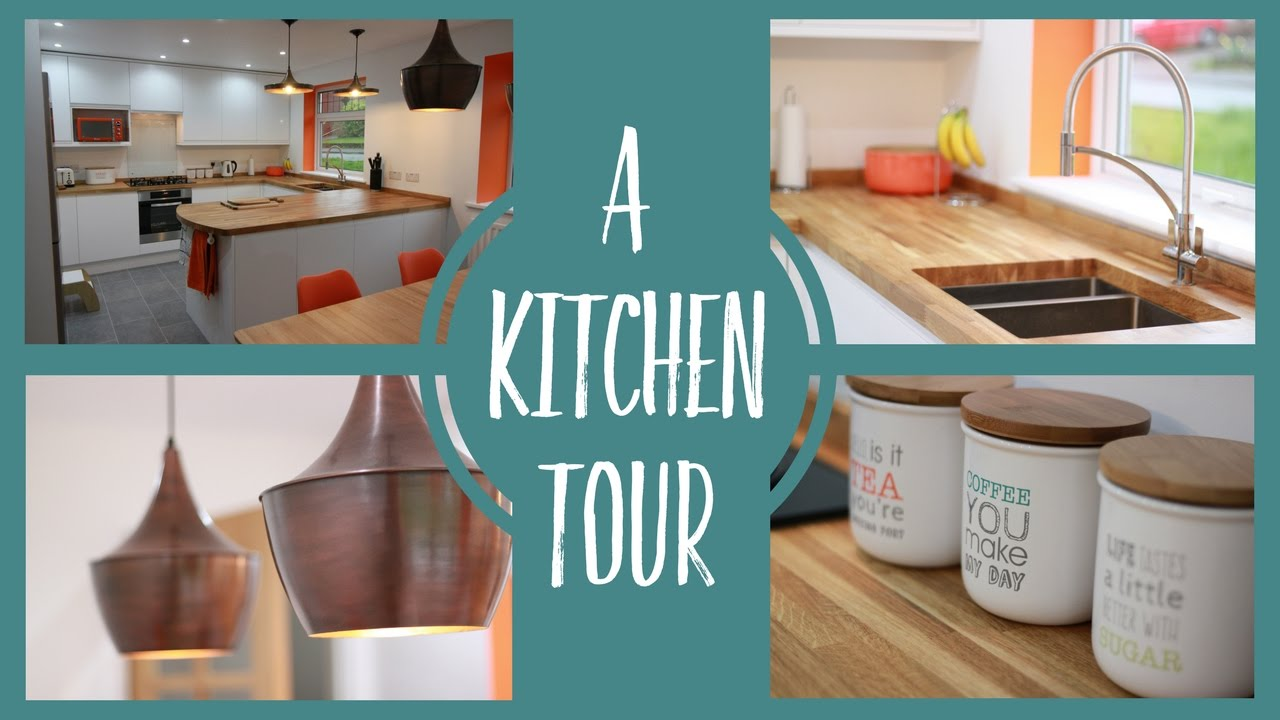 New kitchen diner tour - YouTube