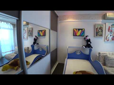 Детская из ДСП EGGER / Шкаф купе и письменный стол / Обзор мебели в Детскую комнату