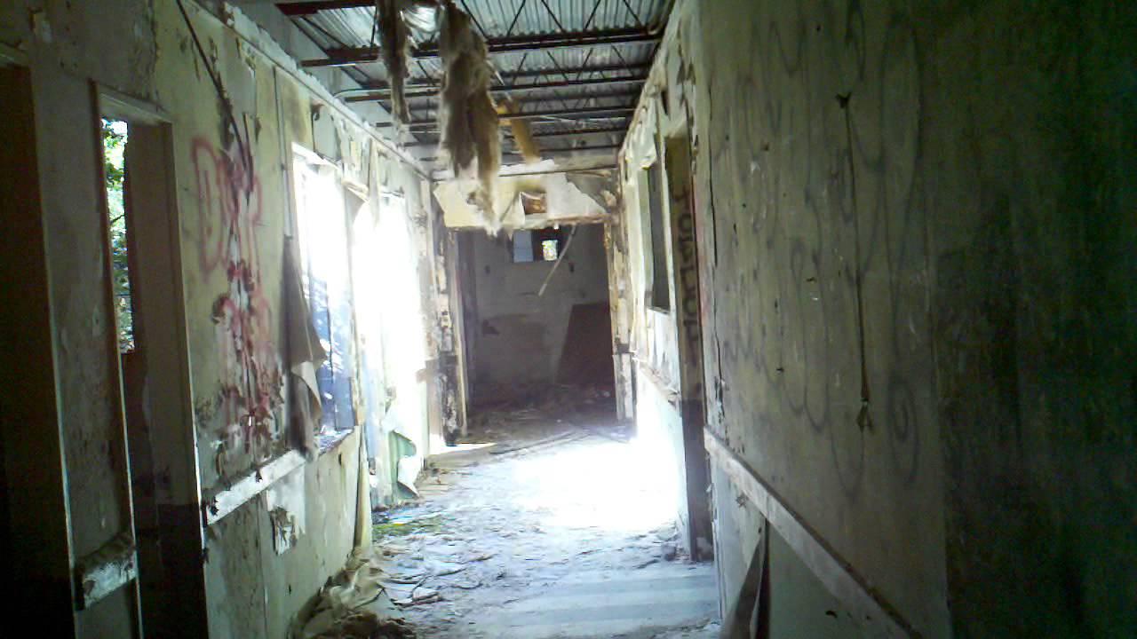 Scary Dark Place Old Abandoned Nursing ...