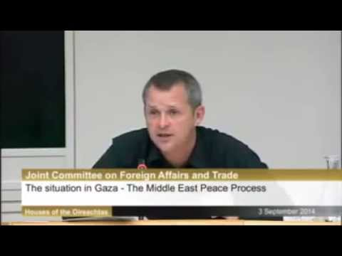 Irish Politician Slams Israeli Ambassador For Racist Aparthe