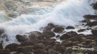 Relaxing Music and Amazing Beautiful Ocean Waves! Ocean Water Sound Vol1
