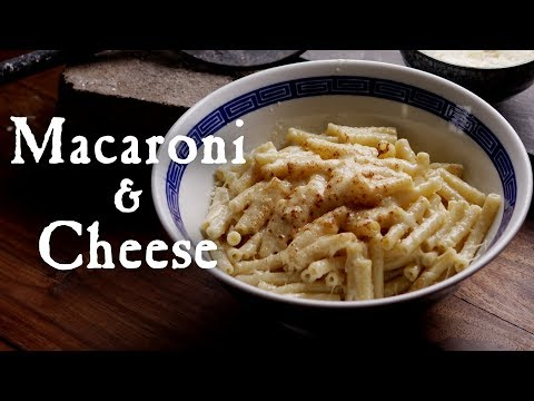 """Macaroni"" - A Recipe From 1784"