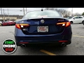 2017 Alfa Romeo Giulia TI Startup Exhaust Engine Sound