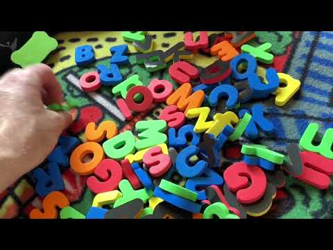 Magnetic Letters, White Board And Black Board For Kids By GINMIC