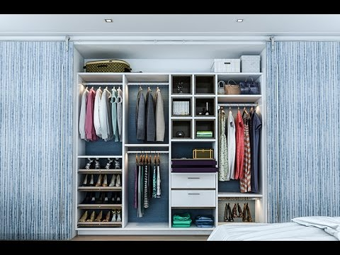 Ikea Closet Design | Ikea Bedroom Closet Design - YouTube