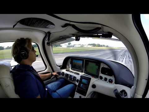 Super Cross Country - Cirrus SR22: Boca Raton, FL to Toledo, OH - Dodging Storms
