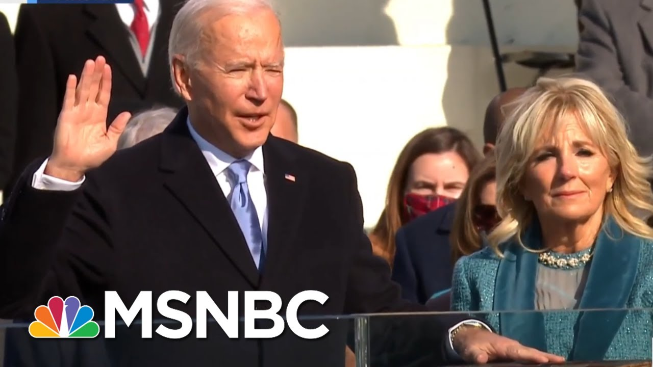 Biden sworn in as 46th president of the United States