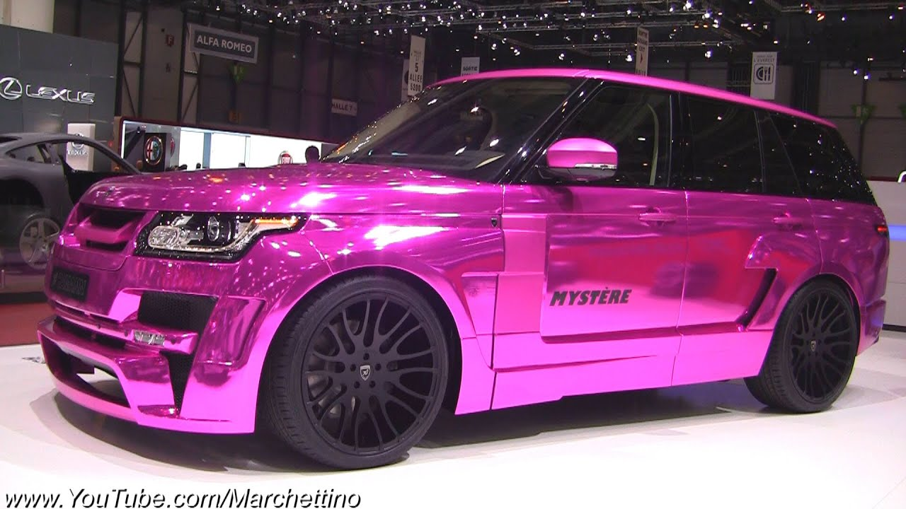 chrome pink hamann range rover mystere youtube. Black Bedroom Furniture Sets. Home Design Ideas