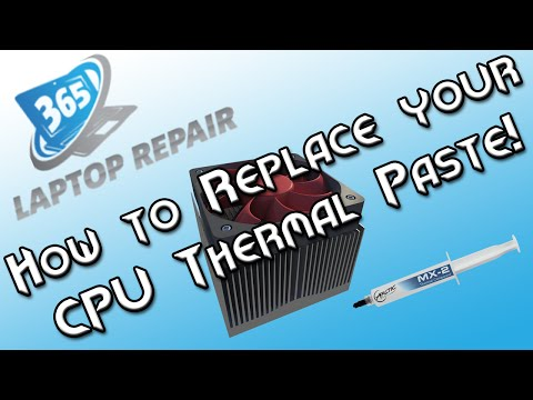 The Right Way to Apply Thermal Paste to CPU Heat Sinks - By 365