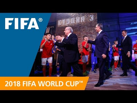 OFFICIAL TV BROADCAST: Russia unveils World Cup Emblem