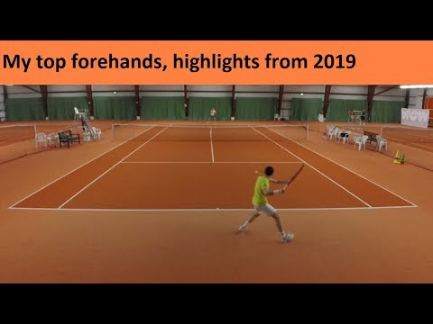 My top forehands from March 2019 highlights
