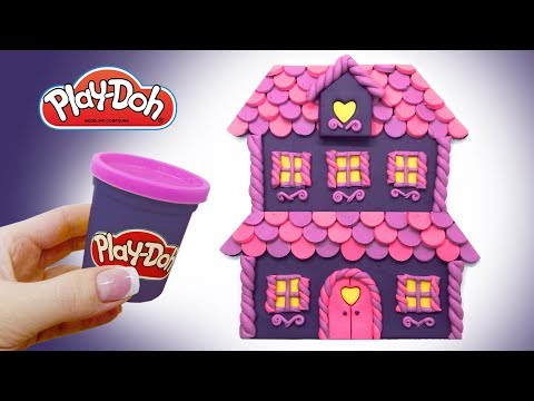 Learn Colors Play Doh. Monster High Doll's House. Surprise Toys Playdough