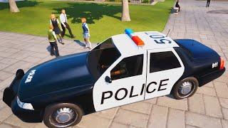 UKRAO SAM POLICIJSKI AUTO I UNISTIO SKOLU!!!! Bad Guys At School