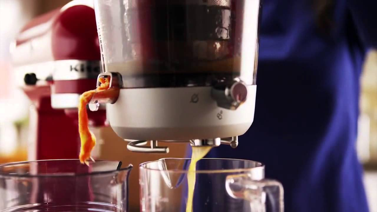 KitchenAid® Stand Mixer Juicer and Sauce Attachment