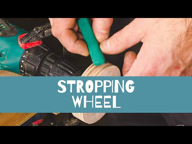 How to Use a Stropping Wheel? I Easy Knives Stropping for Beginners