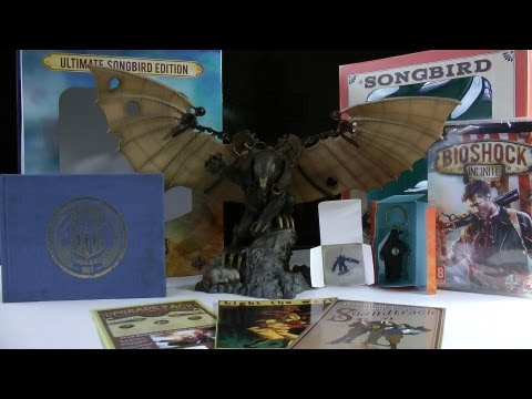 Bioshock Infinite - Ultimate Songbird Edition [PC/360/PS3] - Rozpakowanie / Unboxing