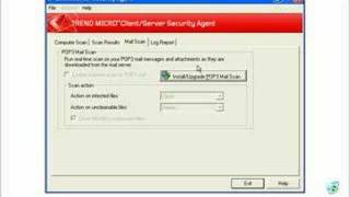 Installing client software for Trend CSM Suite for SMB V3.6