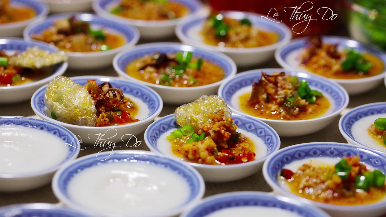 Bánh Bèo Chén Nhưn Ướt – Vietnamese Miniature Steamed Rice Cakes