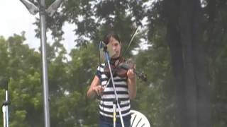 Cara plays Fiddle at Uncle Jimmy Thompson days 2011