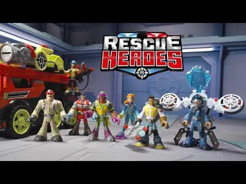 Rescue Heroes Transforming Fire Truck | Mattel