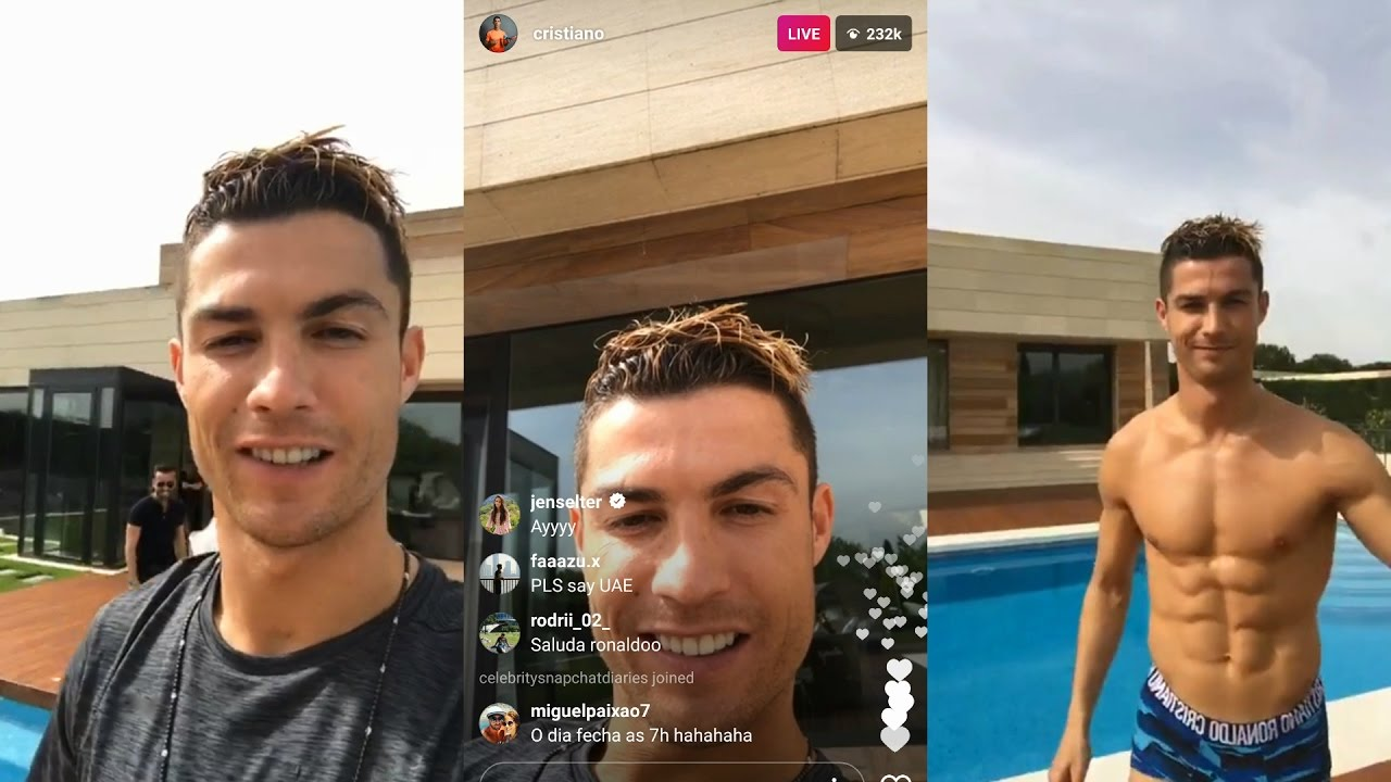 Cristiano Ronaldo   Instagram Live Stream   4 MAY 2017 ...