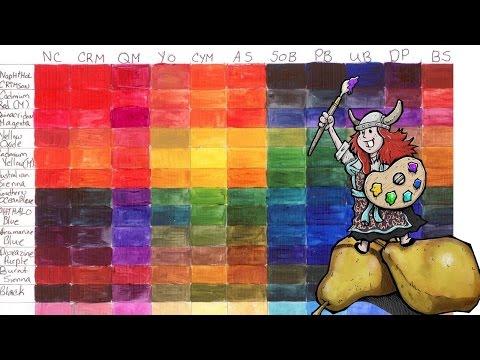 Big Art Quest #2 | learn to make Custom Color charts | #bigartquest