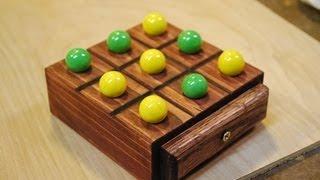 How to Make a Marble Tic-Tac-Toe Board (woodlogger.com)
