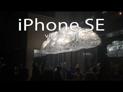 iPhone SE 4k Video Test