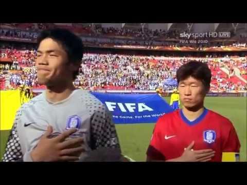 Anthem Of Korea Republic Vs Greece (FIFA World Cup 2010)