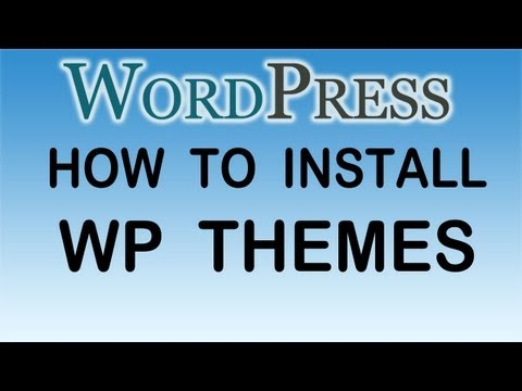 How to Change and Install WordPress Themes  (and Things You NEED to Know Before You Change Themes!)