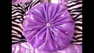 DIY Cushion/Kirlent/Coussin Rond | Teslime Moda Thumbnail
