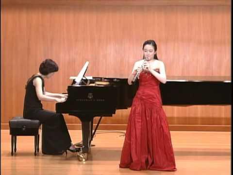 Poulenc oboe Sonata FP 185   Kumho Prodigy concert