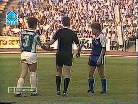 Чемпионат СССР 1988, 18-й тур, Динамо ( Киев ) - Жальгирис ( Вильнюс )