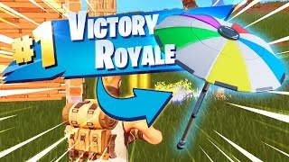 Fortnite 'Unlocking Beach Umbrella' (Season 5 Victory Glider!)