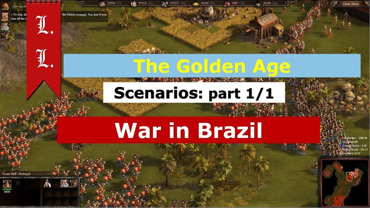 Cossacks 3 Golden Age Scenarios - War in Brazil 1/1