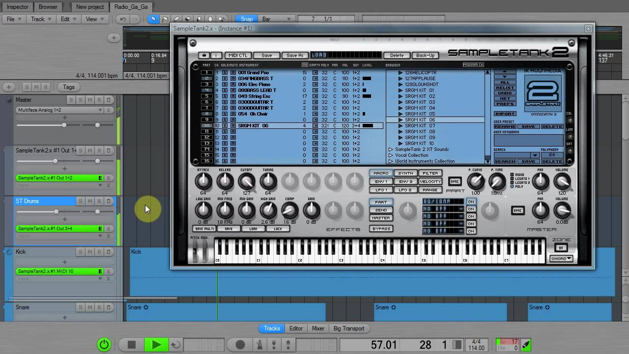 MIDI file tutorial « Zynewave