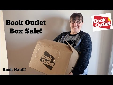 Book Outlet Box sale 2018  Book Haul.