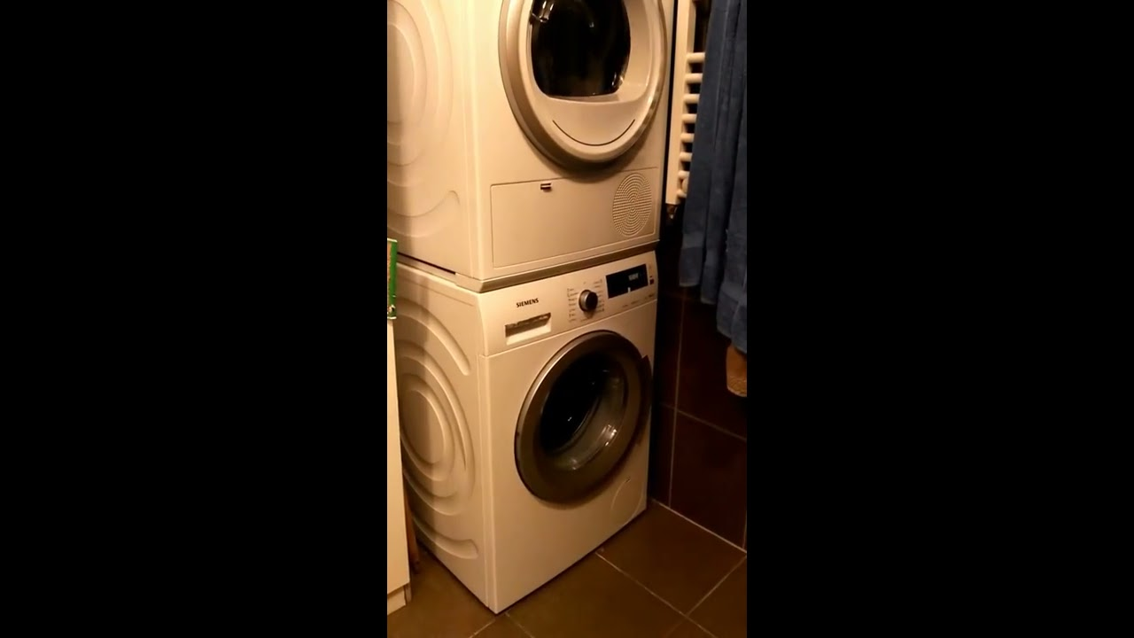 siemens wt45h200by iq300 isensoric wz11410 washer dryer stacking kit wm14q441 iq500
