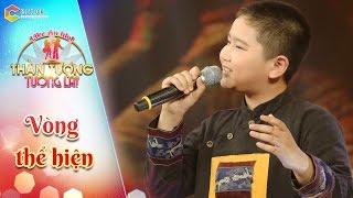 Thần tượng tương lai | tập 8: Mưa bay tháp cổ -  bé Quang Diễn