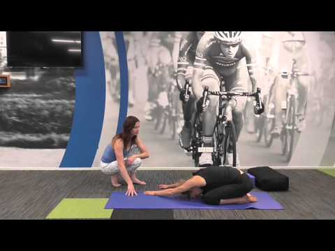 Yoga for Athletes -  Restorative post-workout routine to open front of body