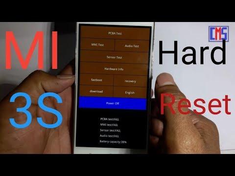 Mobile Info: Xiaomi Redmi Note 4X Reset