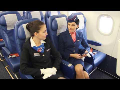 Flight Attendant Rossiya Airlines