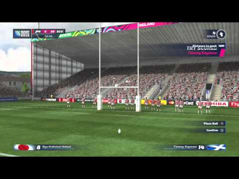 Road to the Rugby World Cup 2015: Scotland vs Japan Let's Go!!! Part 1