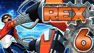 Generator Rex: Agent of Providence Walkthrough Part 6 (PS3, X360, Wii) 100% Level 6: Pckt Dimension