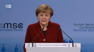 Меркель не уверена в успехе переговоров с Путиным