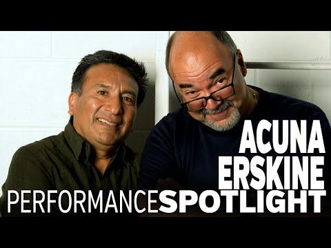 Peter Erskine & Alex Acuna performing