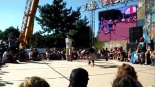 Hip Hop Kemp 2011 - Powermoves Battle Final Round 1on1