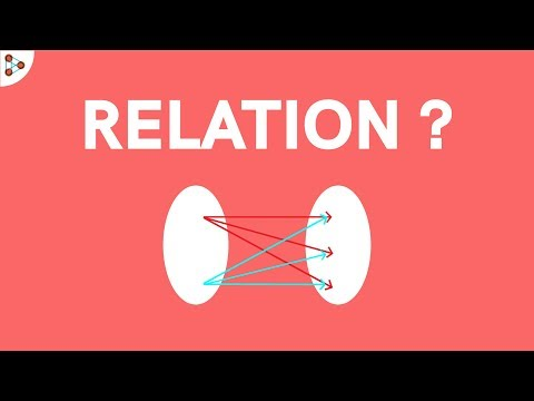 What Is A Relation? - CBSE - 11
